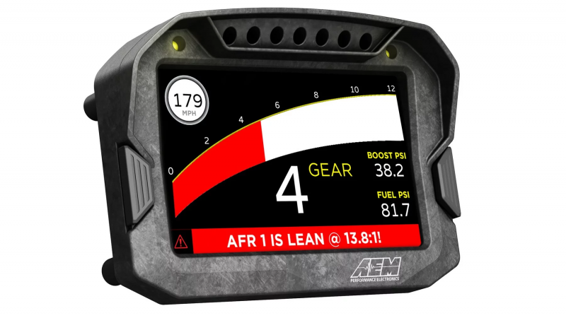 AEM's CD Line Of Dashes Keep You Informed 6