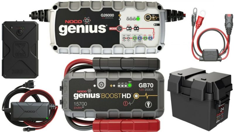 MSD Releases New Battery Chargers, Battery Maintainers, Jump Starters& Accessories from NOCO 2
