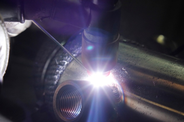 High quality welding job
