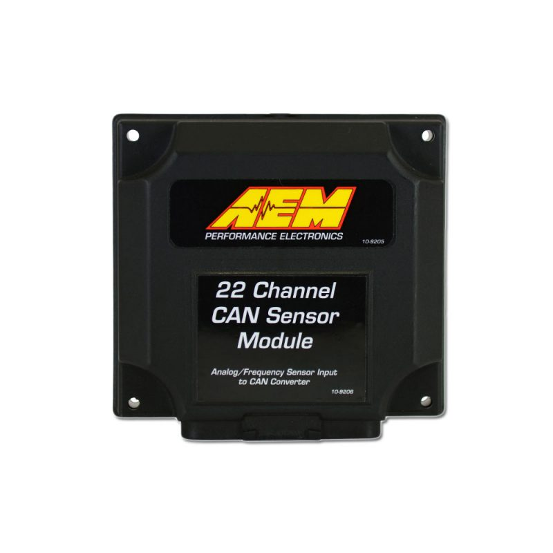 New Product - AEM 22 Channel Can Sensor Module 5