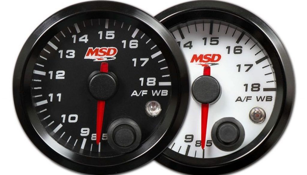 New Product!! MSD Standalone Air/Fuel Wideband 02 Gauges Kit