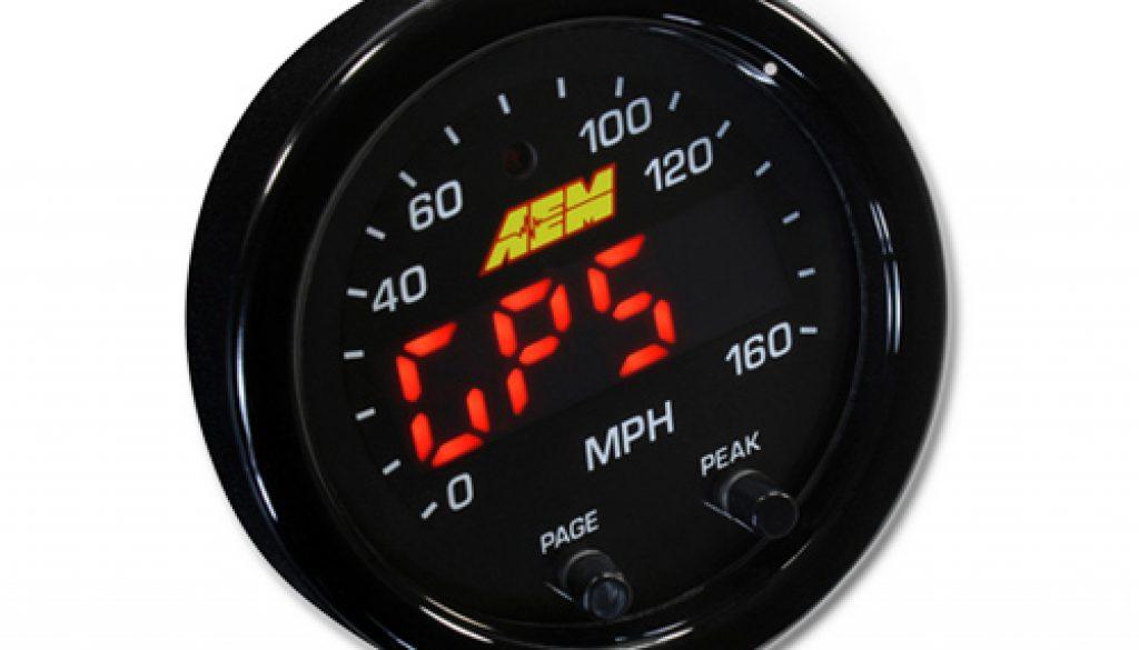AEM X-Series Speedometer
