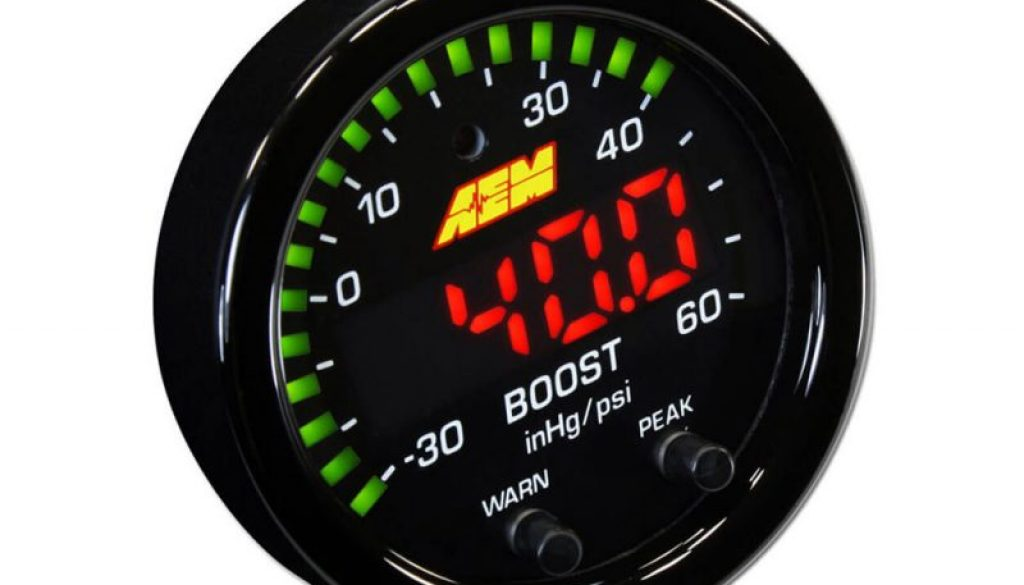 AEM X-Series Boost Display Gauge