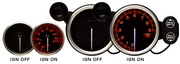 In stock. Defi DF Blue Racer N2 Boost Gauge 4