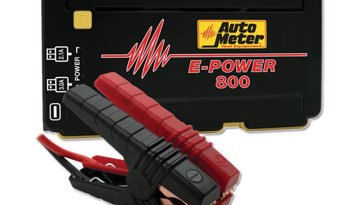 Accel Jump Starter 14.8V, 800A Peak, 1800 mAh/battery
