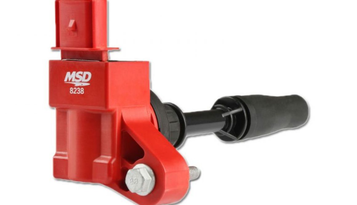 MSD Blaster Ignition Coil, Red, Individual