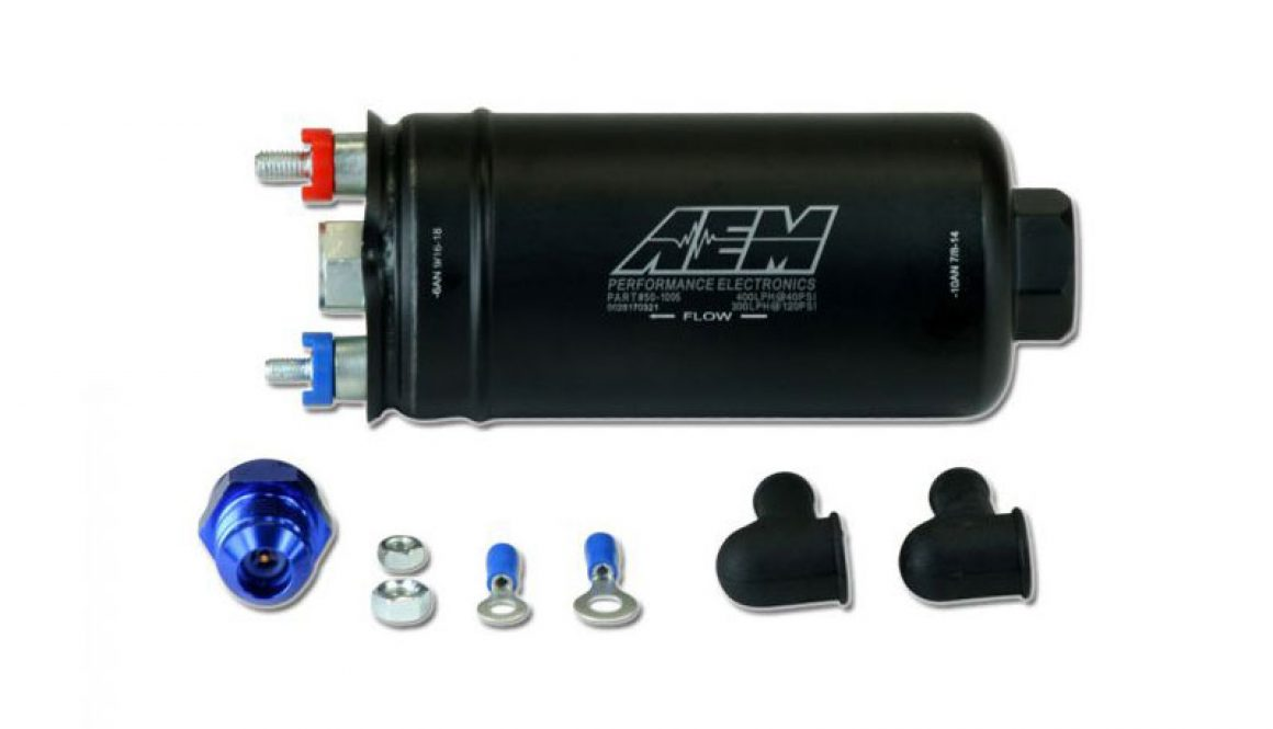 AEM 400lph High Pressure In-Line Fuel Pump