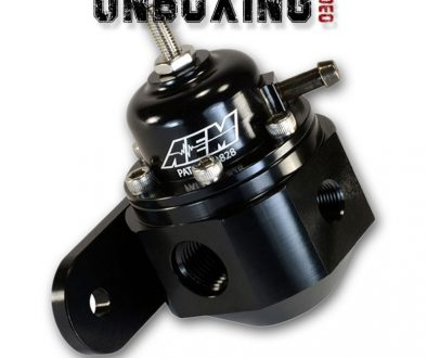 Unboxing the AEM Universal Adjustable Fuel Pressure Regulator