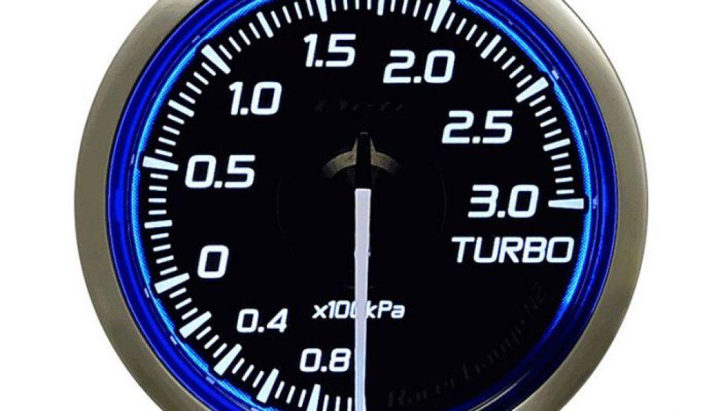 Defi DF Blue Racer N2 Boost Gauge Metric 52mm 3 Bar
