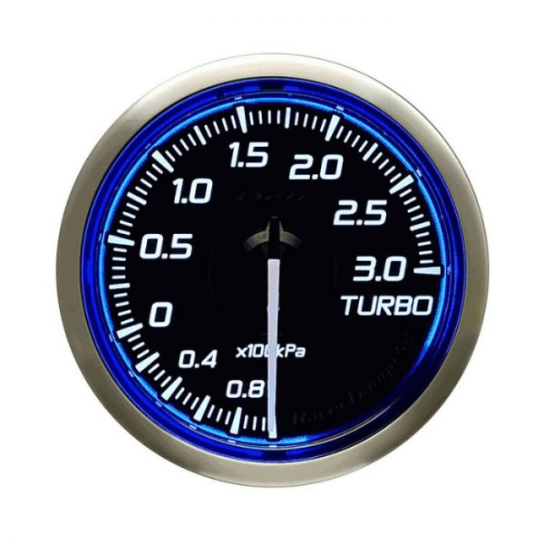 Defi DF Blue Racer N2 Boost Gauge Metric 52mm 3 Bar