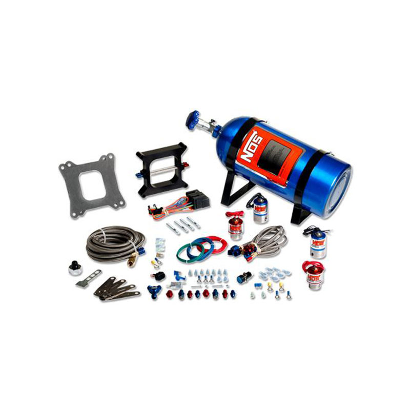 NOS Cheater Nitrous System for V8 Dual Holley with 4 bbl 1