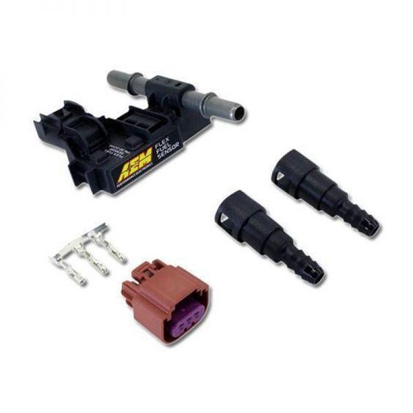 AEM Ethanol Content Flex Fuel Sensor Kit (Barbed)