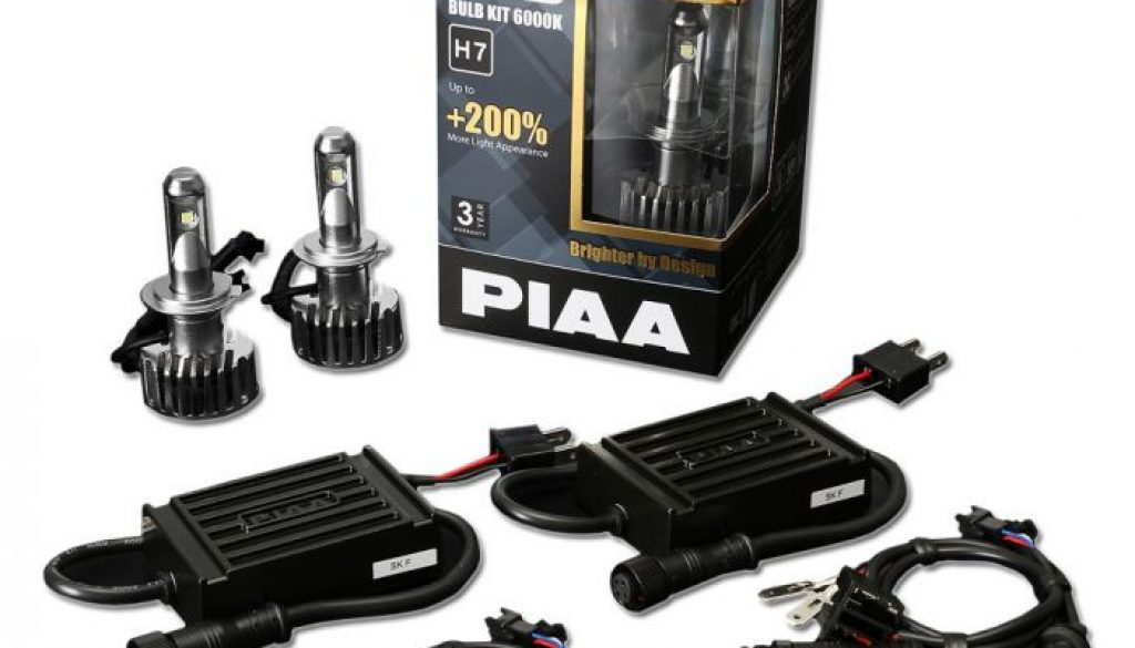PIAA LEH123E 2ND Gen LED Bulb Kits H7 6000K-1