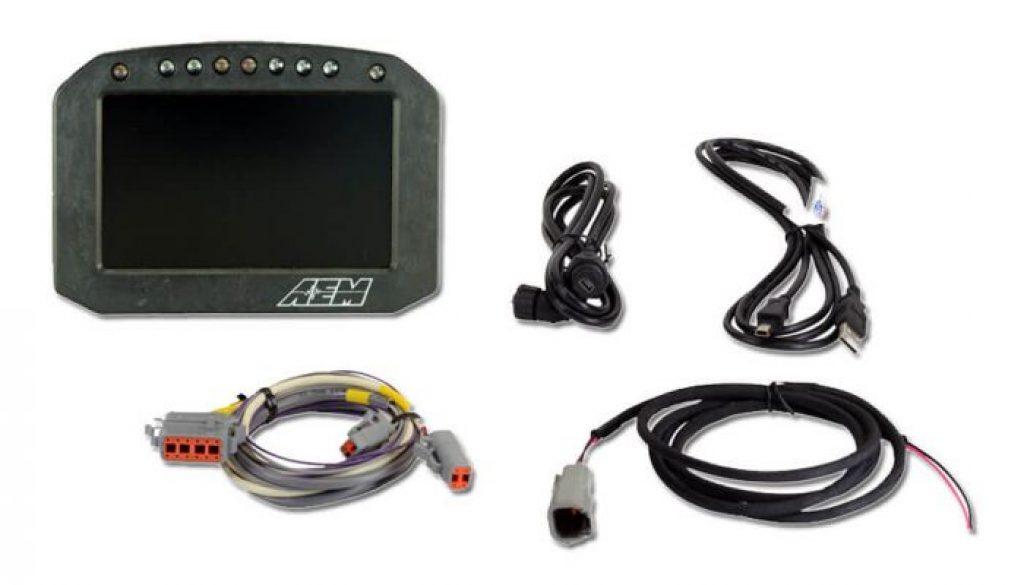 AEM CD-5L Carbon Logging Flat Panel Digital Dash Display