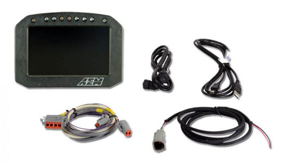 AEM CD-5L Carbon Logging Flat Panel Digital Dash Display- Product