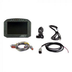 AEM CD-5L Carbon Logging Flat Panel Digital Dash Display 1