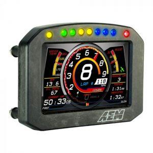 AEM CD-5L Carbon Logging Flat Panel Digital Dash Display 2