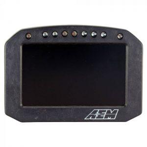 AEM CD-5L Carbon Logging Flat Panel Digital Dash Display 4