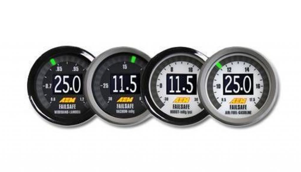 aem wideband failsafe gauges