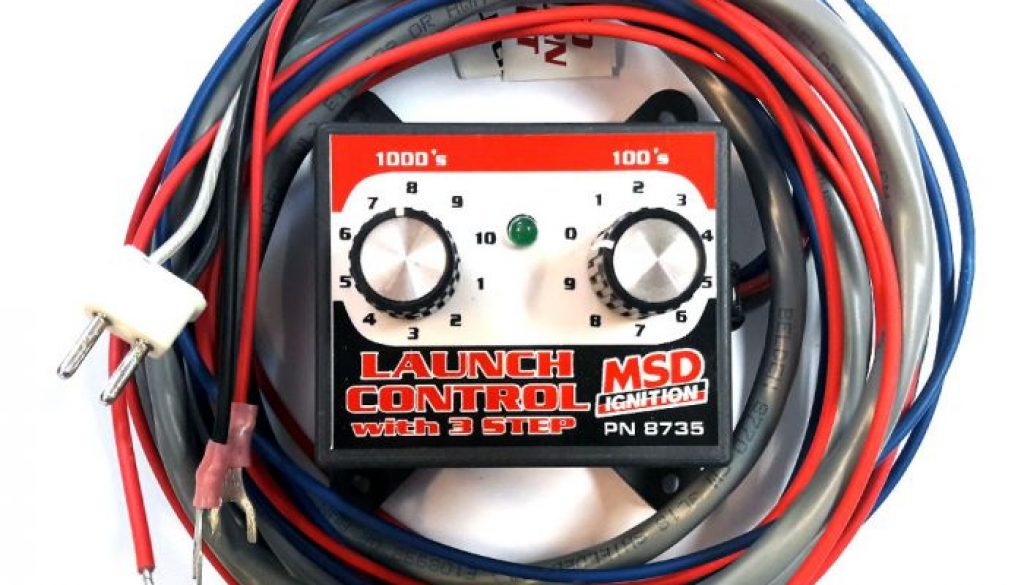 msd launch control - front side of the launch control