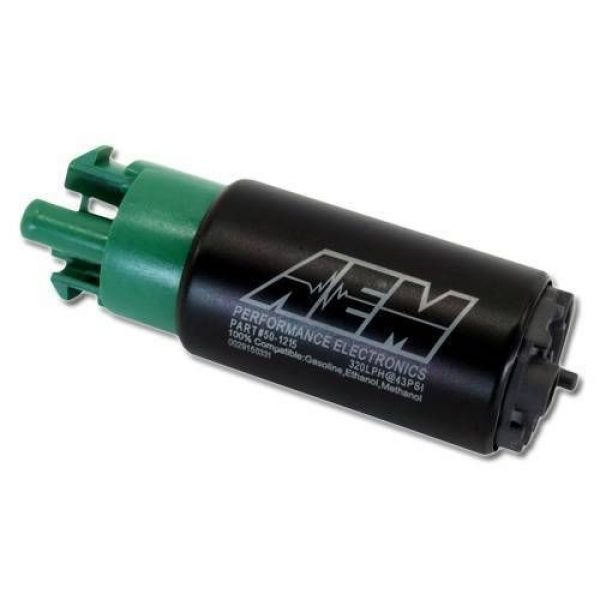 AEM 340lph E85 Compatible High Flow In-Tank Fuel Pump with hooks