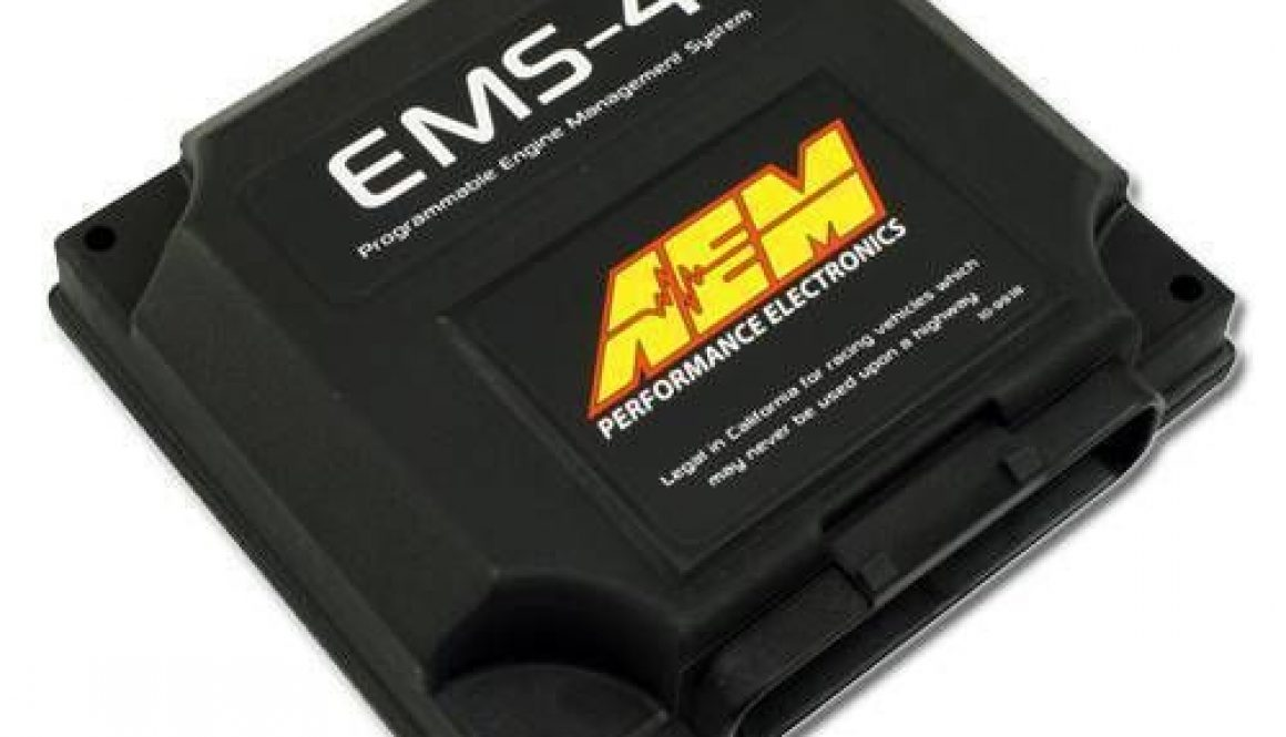 AEM EMS-4 Universal Standalone Engine Management System - Front left side
