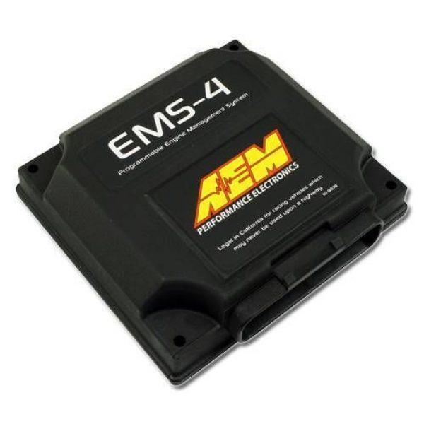 AEM EMS-4 Universal Standalone Engine Management System - Front left side