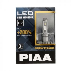 PIAA LEH123E 2ND Gen LED Bulb Kits H7 6000K 3