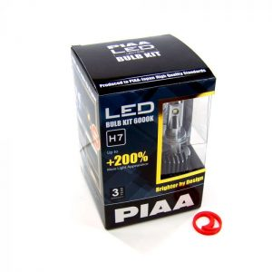 PIAA LEH123E 2ND Gen LED Bulb Kits H7 6000K 2