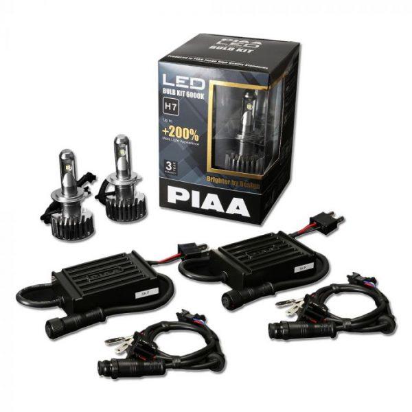 PIAA LEH123E 2ND Gen LED Bulb Kits H7 6000K - Item