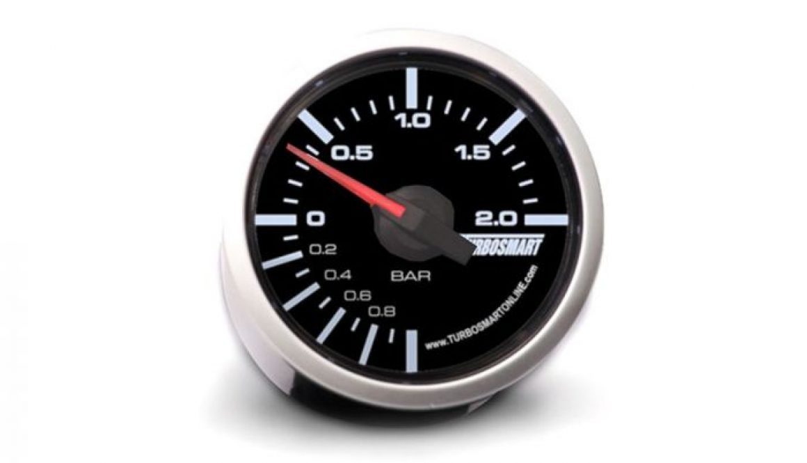 Turbosmart Boost Gauge 0-2 Bar 52mm - Gauge