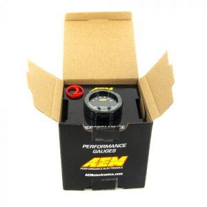 AEM X-Series 35PSI / 2.5BAR Boost Display Gauge 1