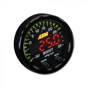 AEM X-Series 35PSI / 2.5BAR Boost Display Gauge 4