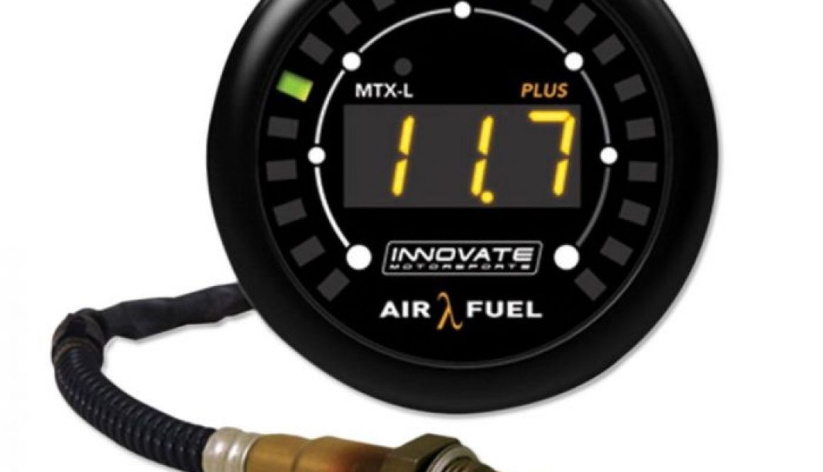 Innovate MTX-L PLUS Digital Wideband Air.Fuel Ratio Gauge Kit