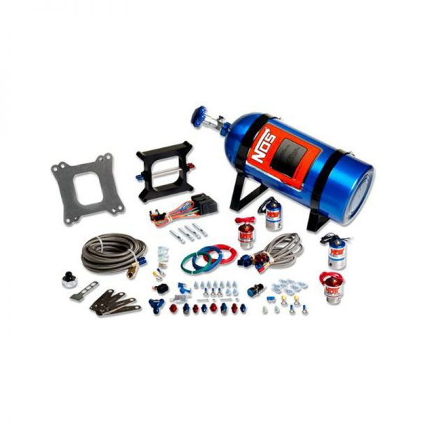 NOS Cheater Nitrous System for V8 Dual Holley with 4 bbl