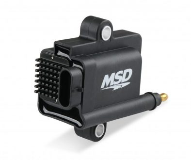 MSD IGNITION COIL, SMART COIL, BLACK, INDIVIDUAL - Left front side