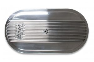 Holley Vintage Series Oval Air Cleaner - Polished 10