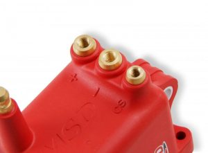 MSD Ignition coil, High Output For Pro CDI 600, RED 8