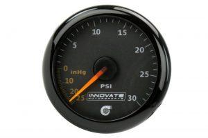 Innovate MTX-A: 30 PSI Vacuum/Boost Gauge Kit 1