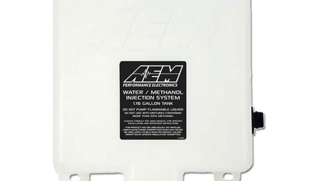 AEM V3 Water/Methanol Injection 1.15 Gallon Tank Kit with Conductive Fluid Level Sensor