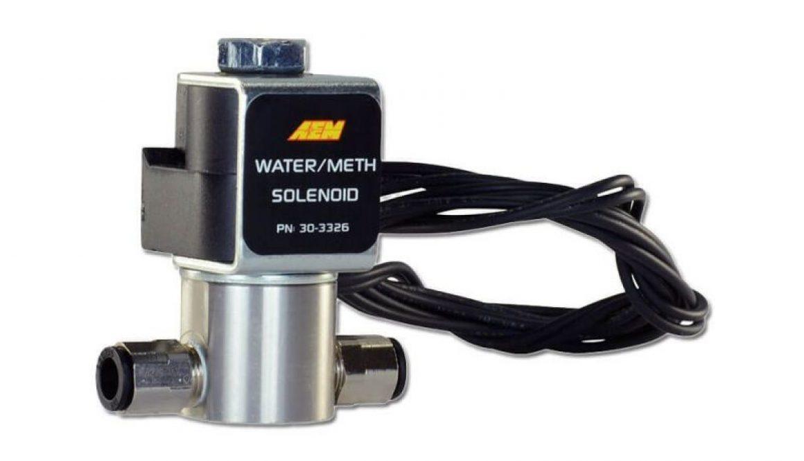 AEM High-Flow Low-Current WMI Solenoid