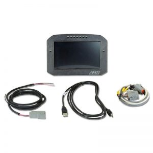 AEM CD-7F Carbon Flat Panel Non-Logging/ Non-GPS Display 1
