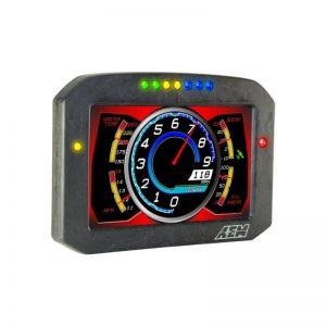 AEM CD-7F Carbon Flat Panel Non-Logging/ Non-GPS Display 5
