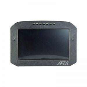 AEM CD-7FL Carbon Flat Panel Logging Display 4