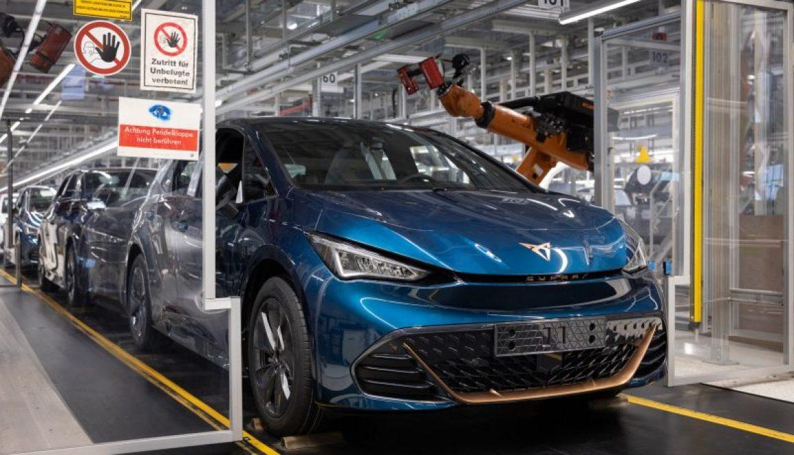 Cupra Born Factory Seat Volkswagen